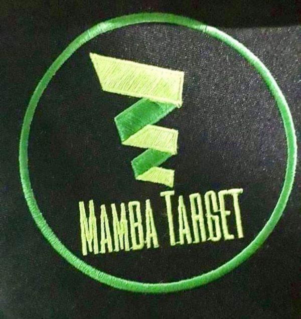 Mamba Target Patch gestickt