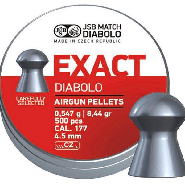 JSB Match Exact 4,52 mm