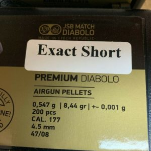 JSB Exact Premium 4.52 mm Short