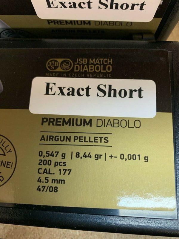 JSB Exact Premium 4.52 mm Short