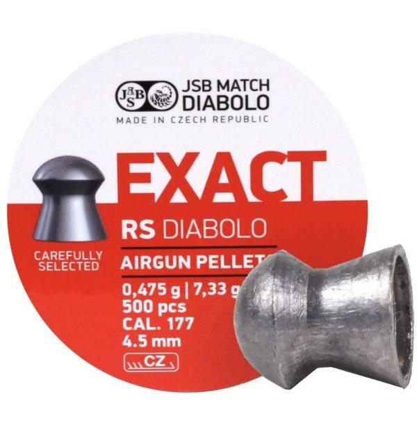 JSB Exact RS Diabolo 4,52 mm
