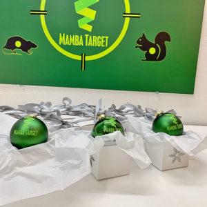 Mamba Target Weihnachtskugel